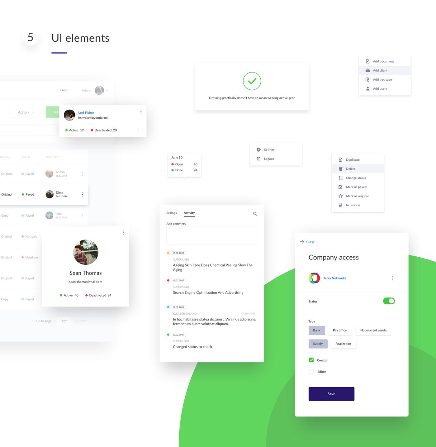 dashboard design flat site ux Web UI user Web Design  admin panel Interface