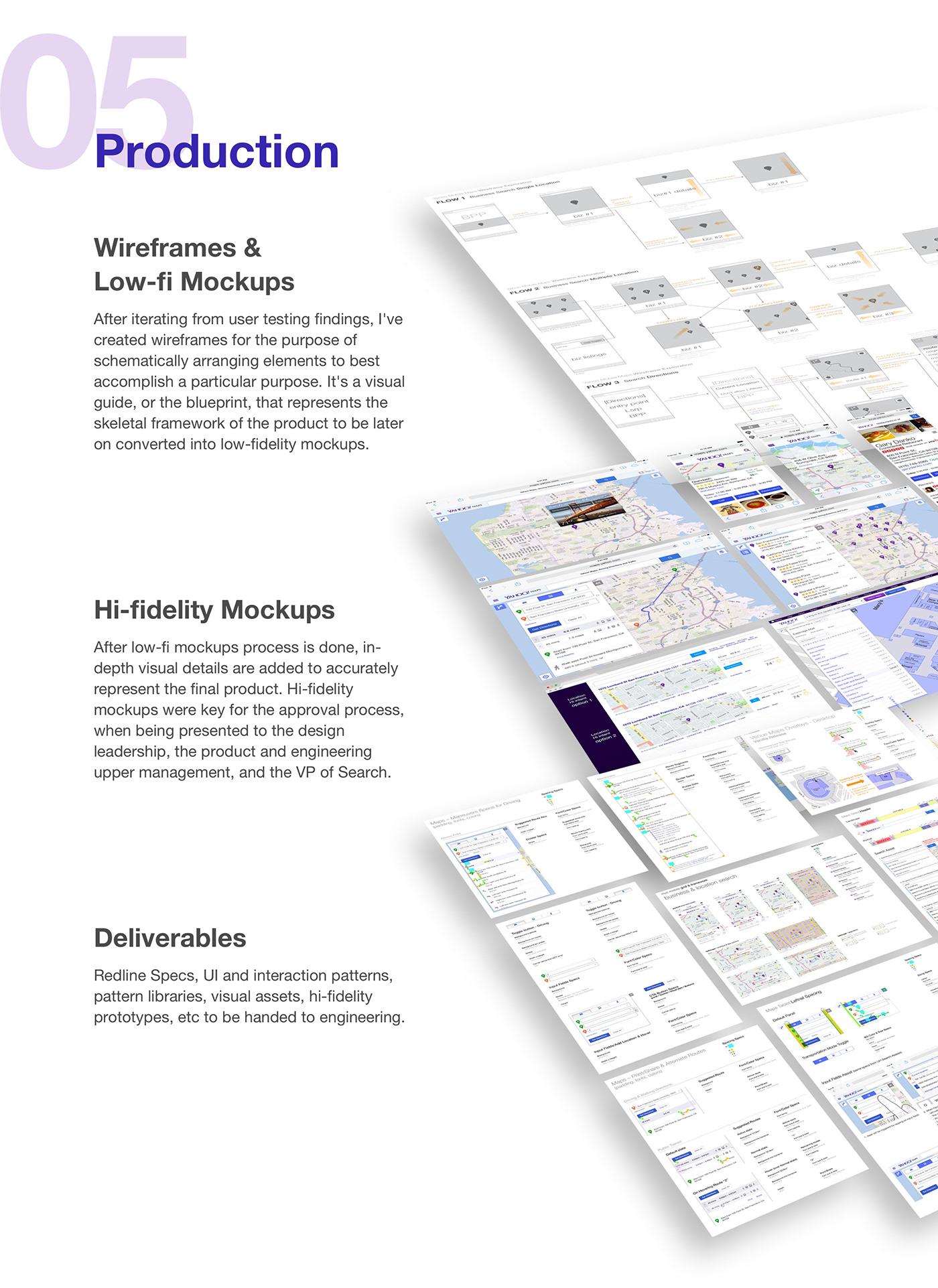product design  ux UI Interaction design  Web Design  mobile tablet desktop web application maps