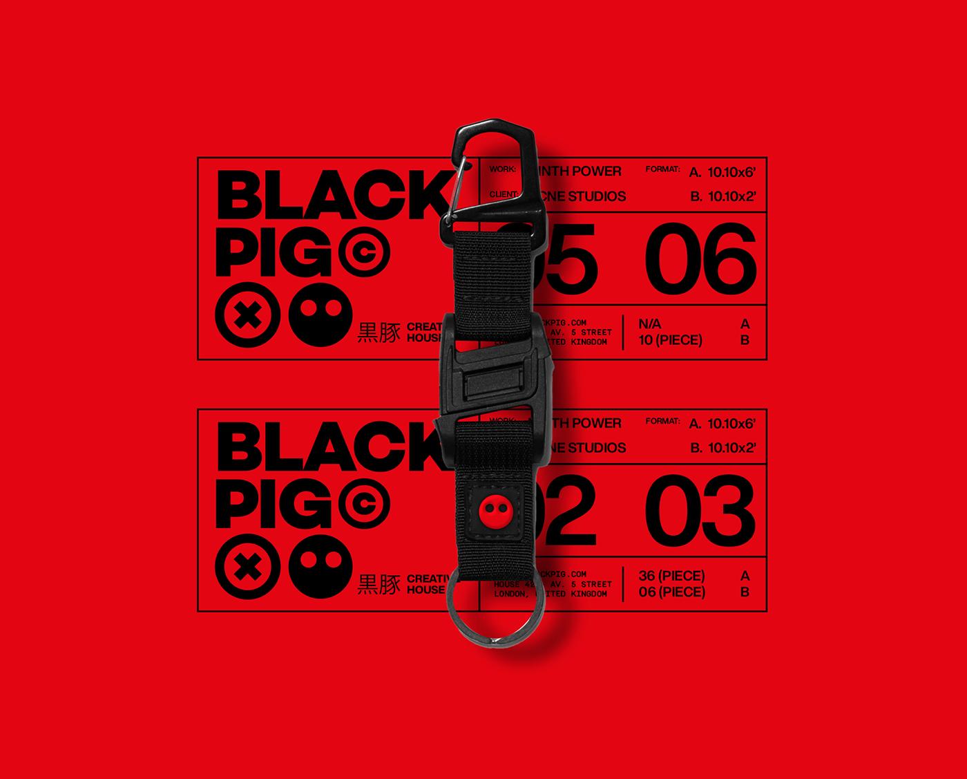 black branding  Brutalism futuristic identity Logotype Mockup poster sans serif typography