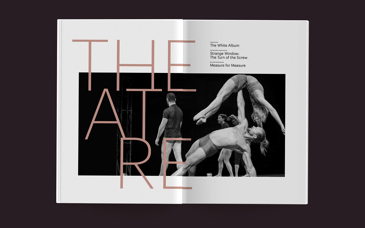 publication typography   print design