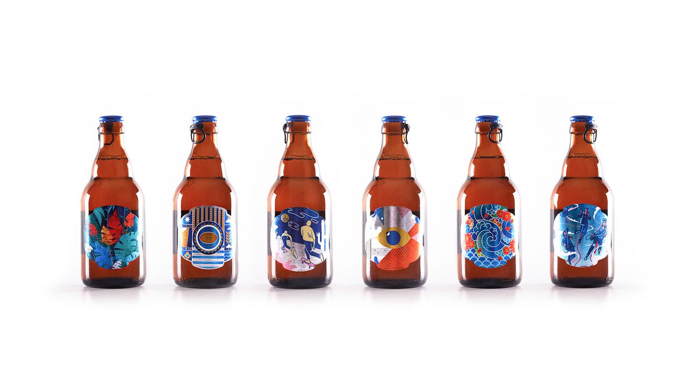 beer bootle Label Packaging efes Turkey ıstanbul craft beer craft