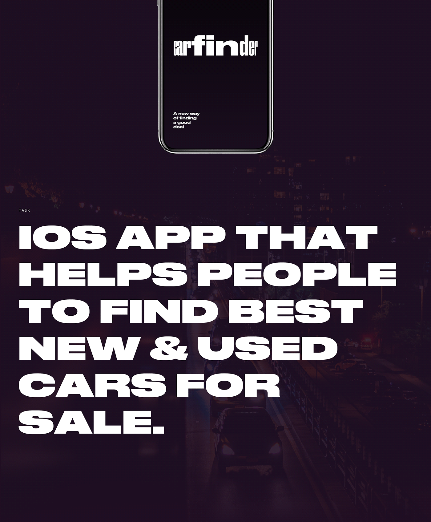 UI Design and Interactions for Carfinder Mobile App