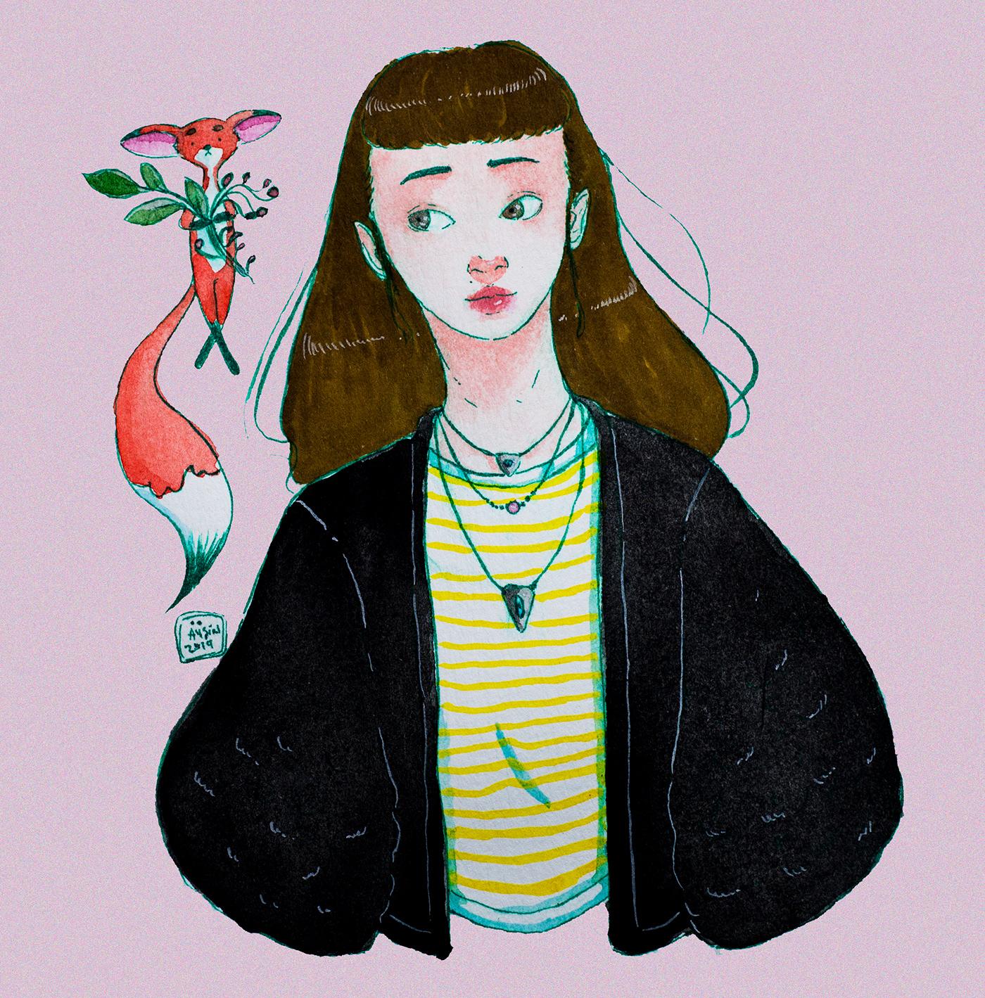 有美感的45張韓國插畫欣賞