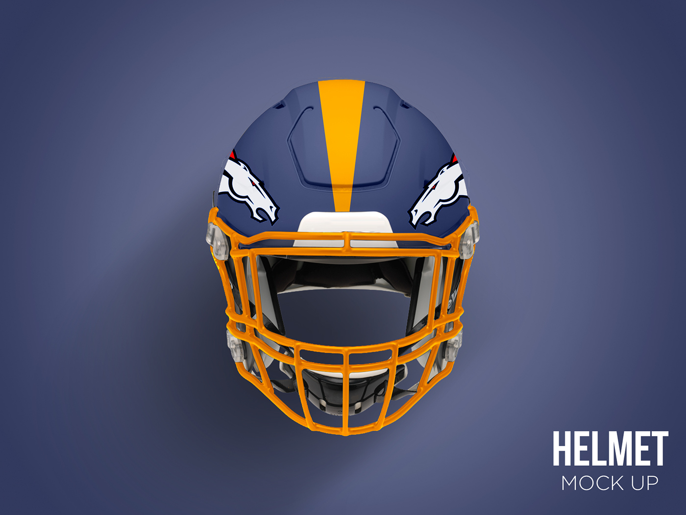 football Helmet Mockup free free mockup