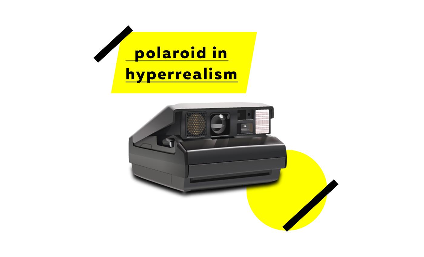 hyperrealism hyperréalisme vectoriel Illustrator ILLUSTRATION  vector POLAROID polaroid image elite illustration vectorielle vector drawing