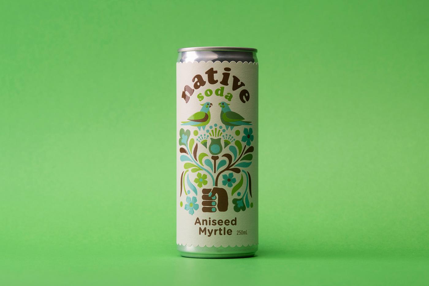 Can Design drink design non alcoholic Seltzer soda
