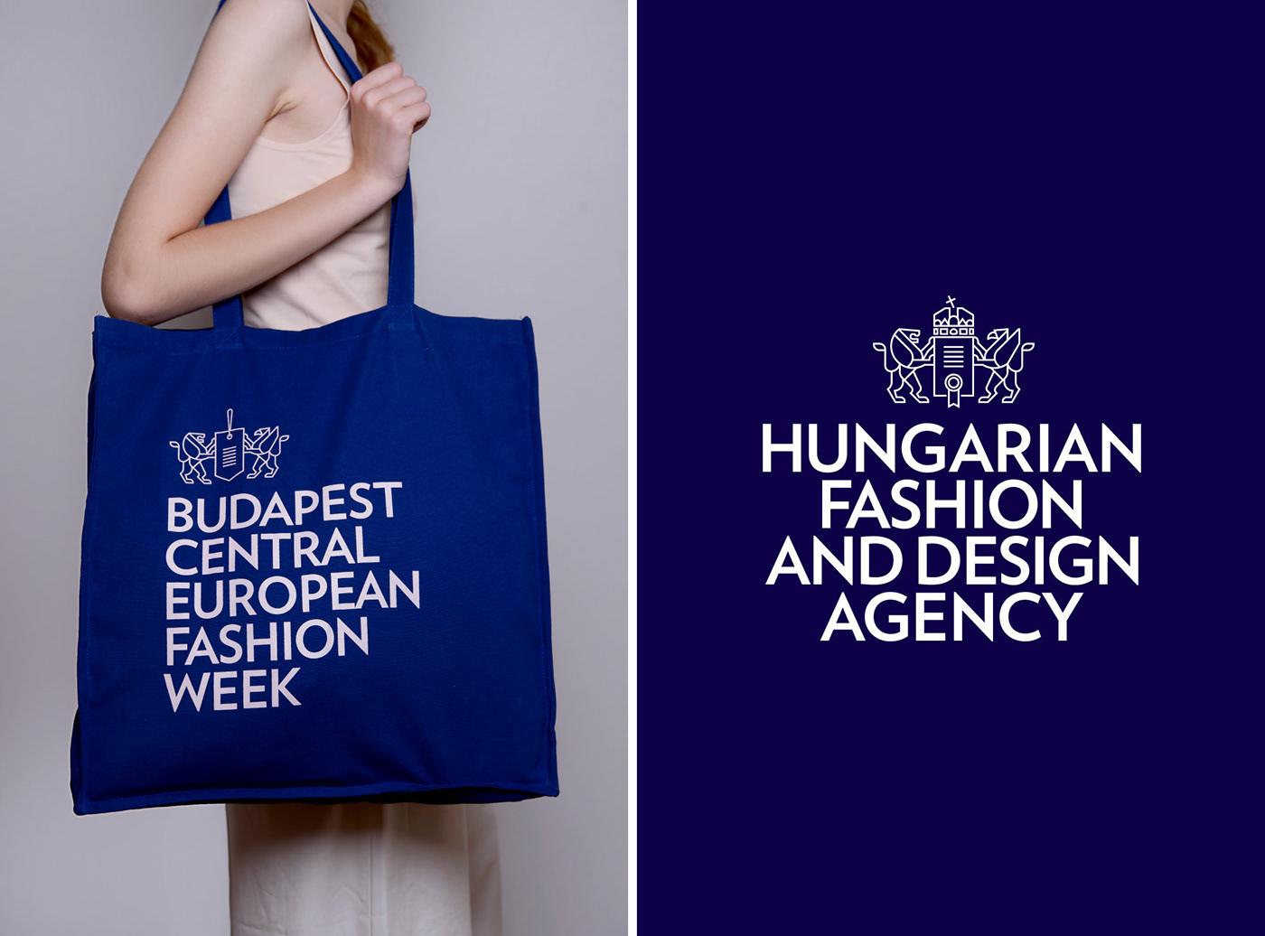 fashion week fashion week identity budapest fashion fashion branding fashion identity Fashion typography fashion typo fashion week logo fashion logo coat of arms