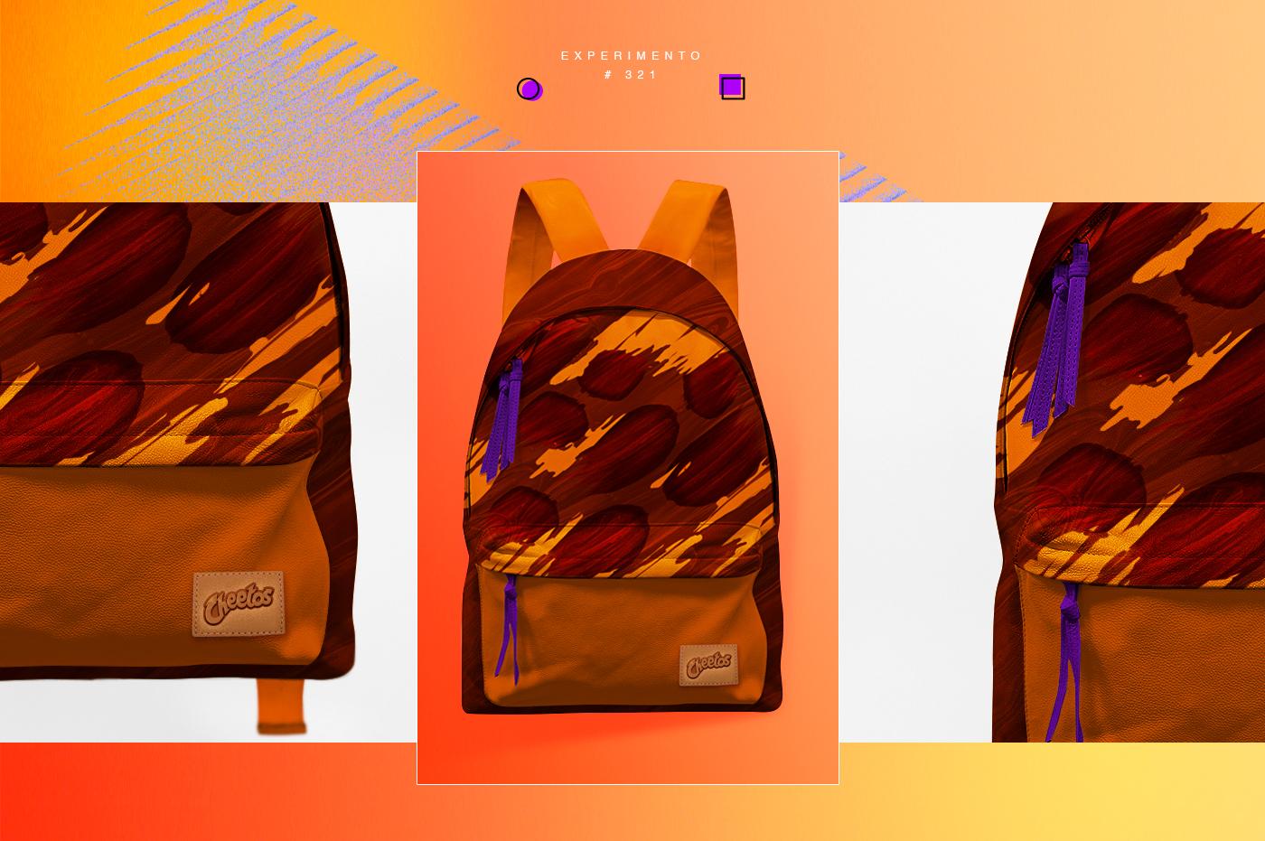 school explosion backpack chocolate Chester mochila Colégio kids geometry