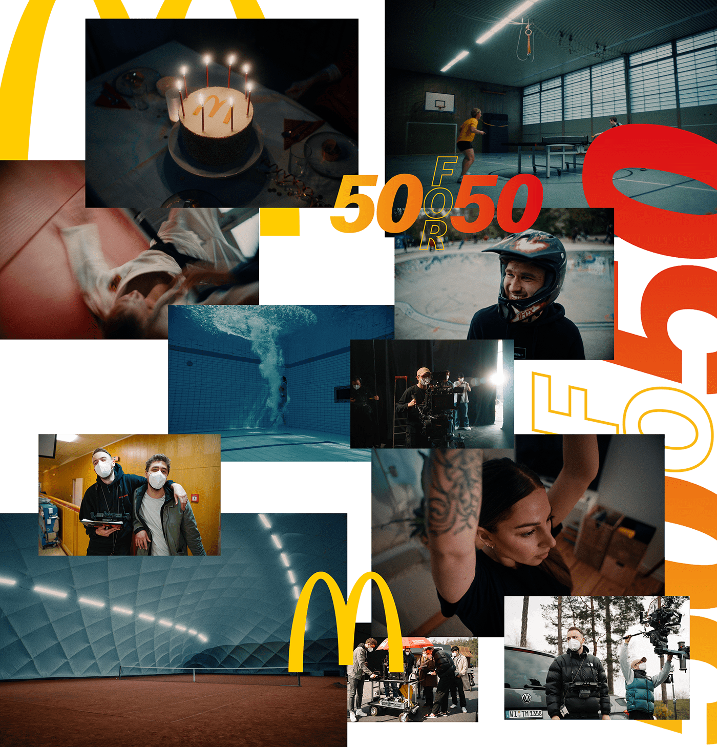 alexa Mini LF commercial direction director Film   Jung von Matt McDonalds regie video