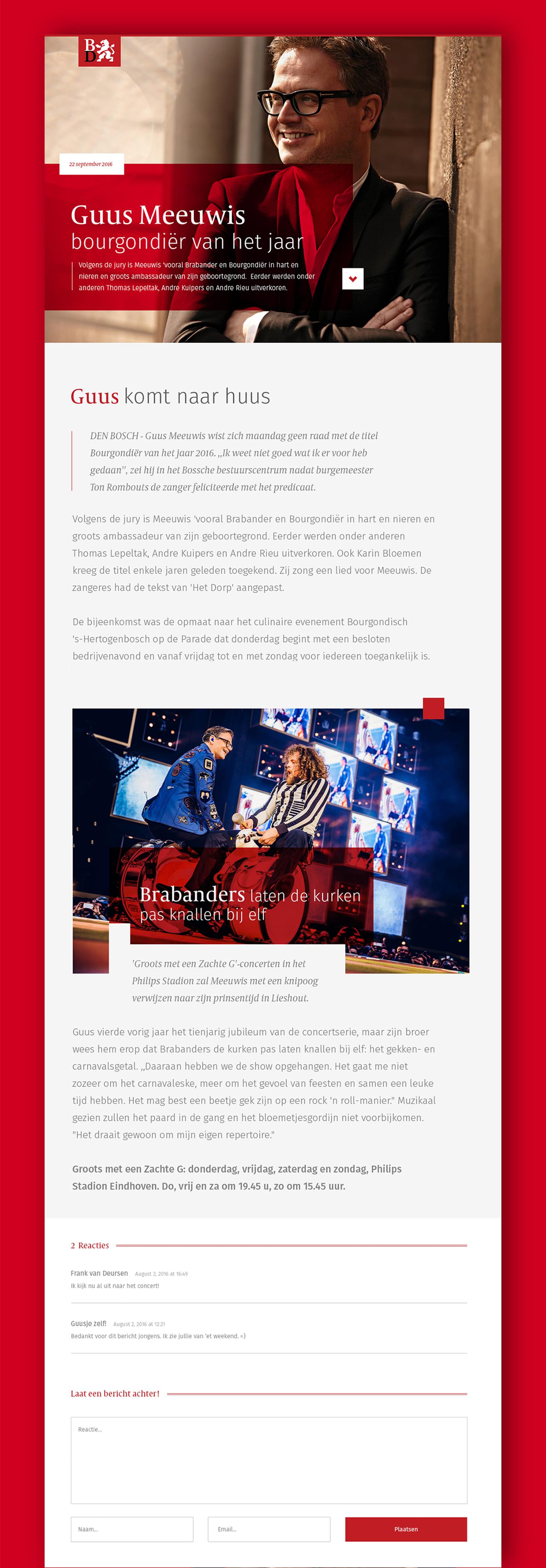 brabant brabants dagblad newspaper longread concept interactive Experience dutch articles Netherlands