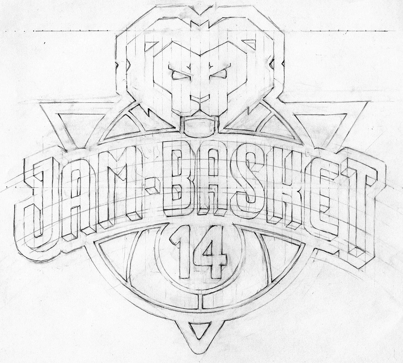 有設計感的25個籃球logo欣賞