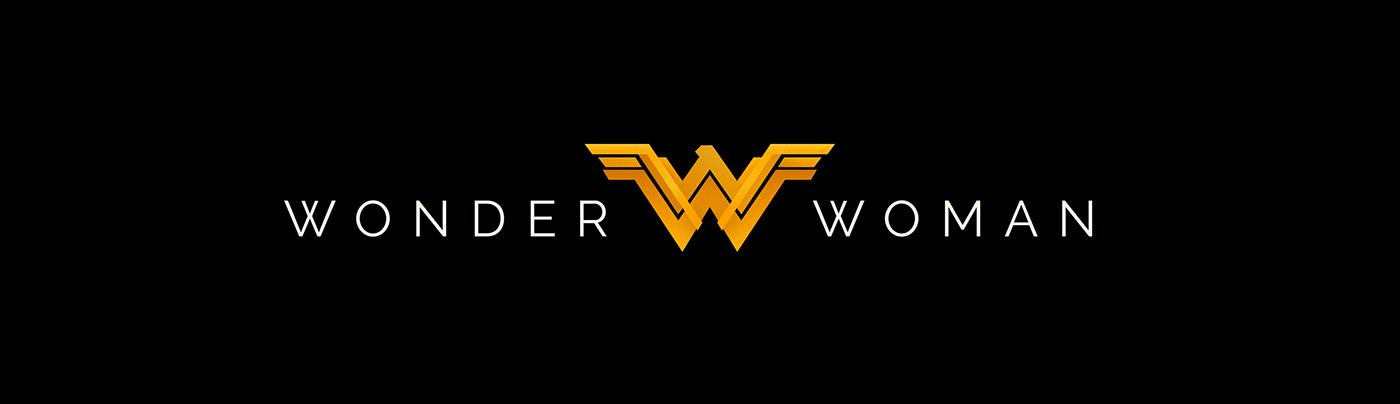 Wonder Woman Logo Redesign On Behance