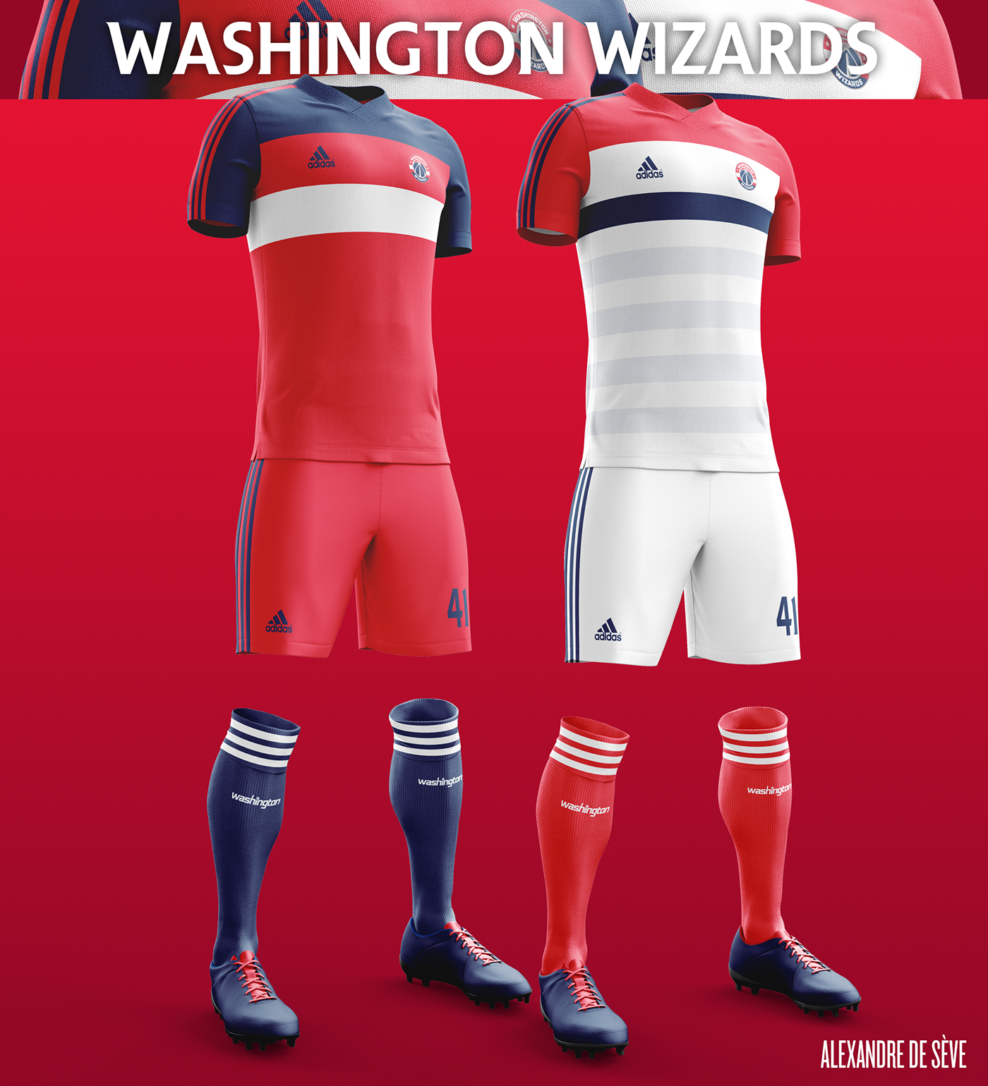 Talisman & Co. | Washington Wizards Soccer Concept Kit