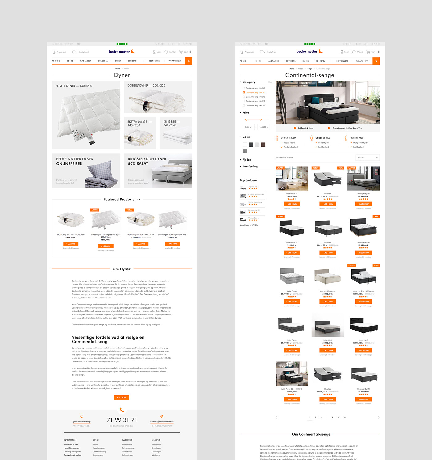 denmark Ecommerce furniture Interior magento2 Website shop store ui design UX design