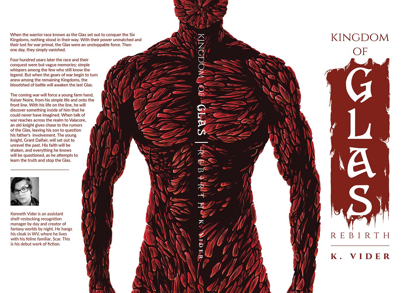 Kingdom Of Glas: Rebirth - Book Cover Design on Behance