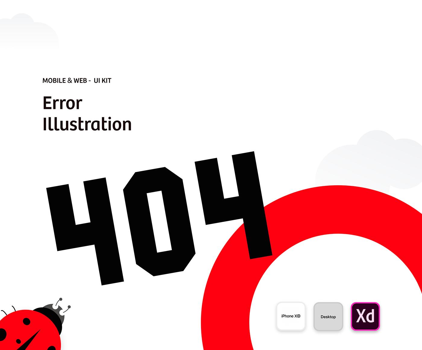 Error Illustrations - Vol 01