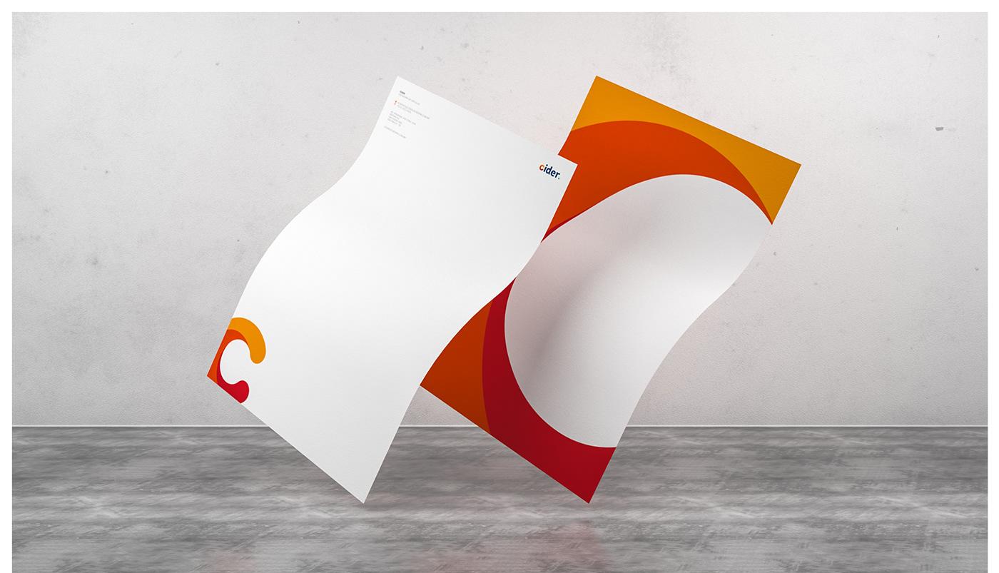 identity Stationery branding  Mockup logo business card
