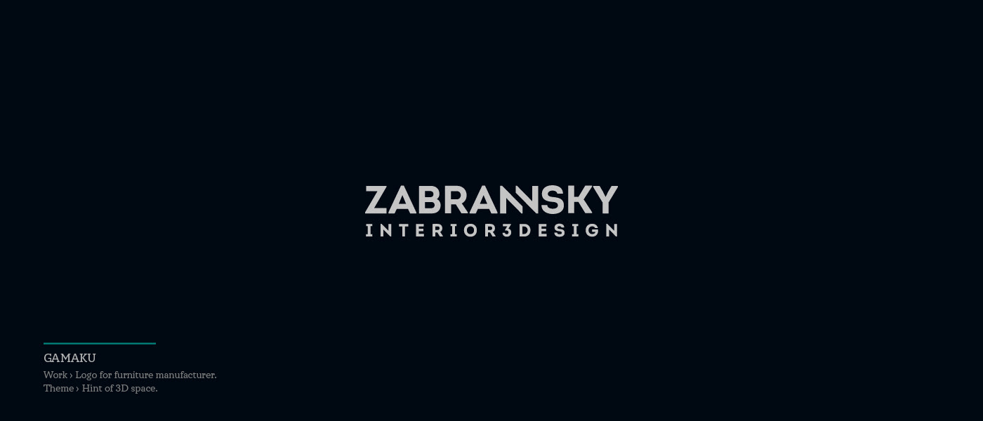 Zabransky - logo for furniture manufacturer