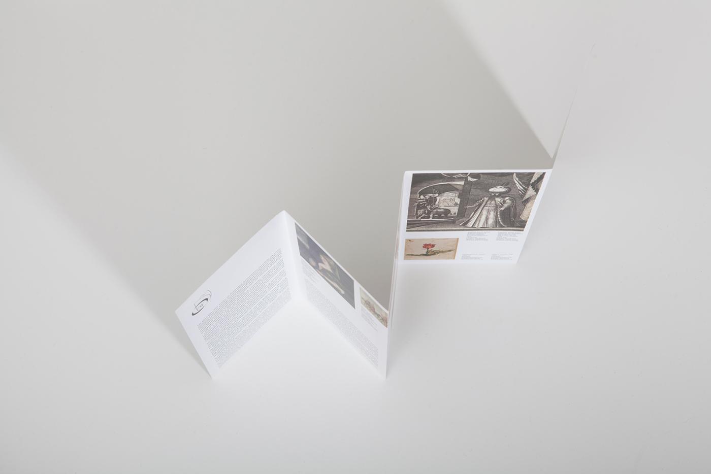 Exhibition  design museum visual identity