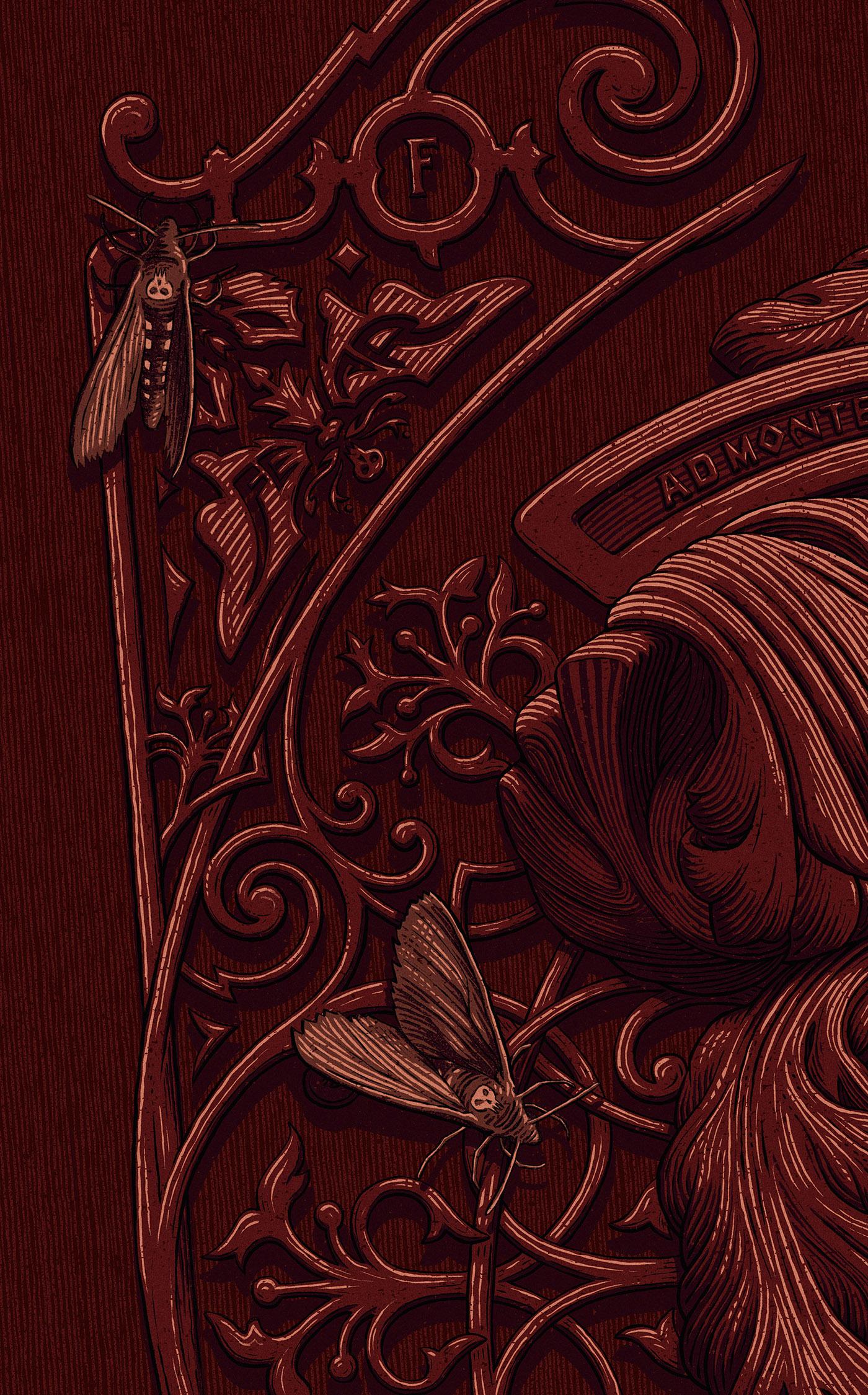Crimson Peak - Legendary's Art Series