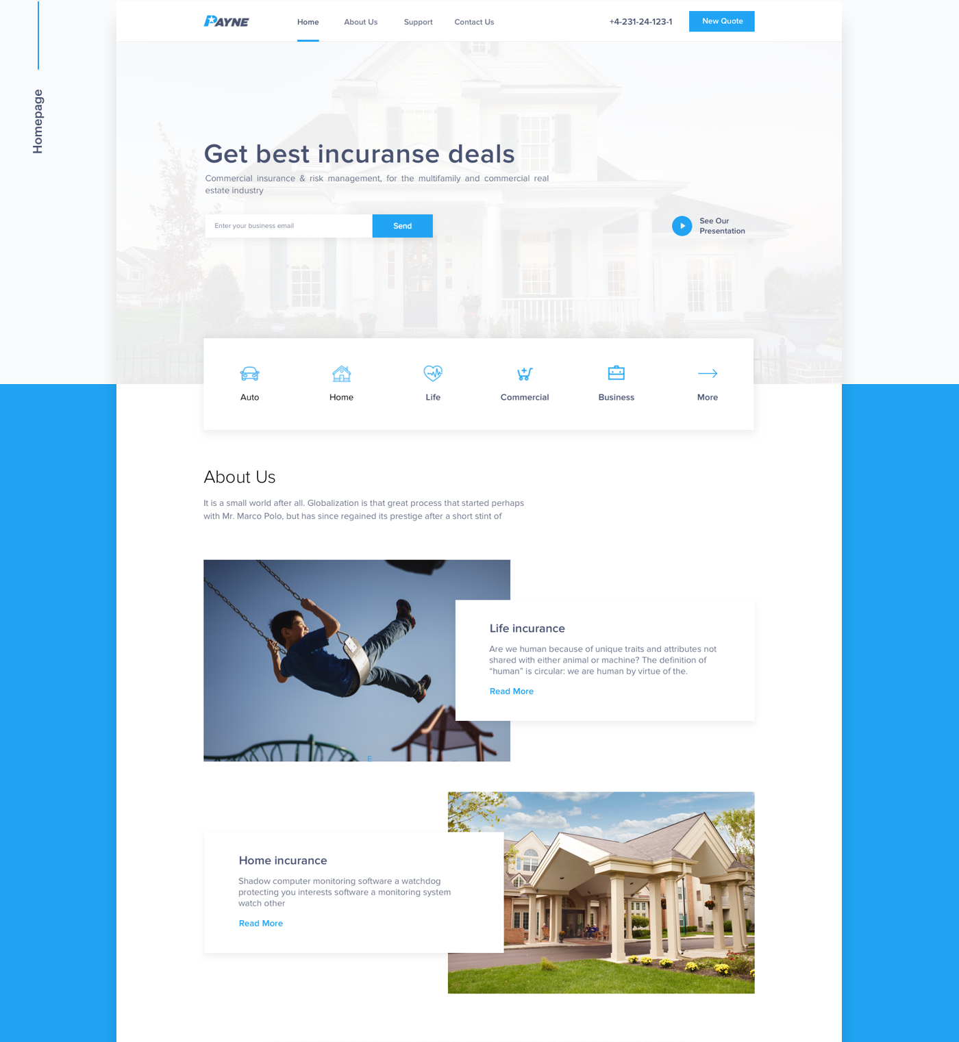 material sketch animation  interaction insurance mobile photoshop after effects Webdesign