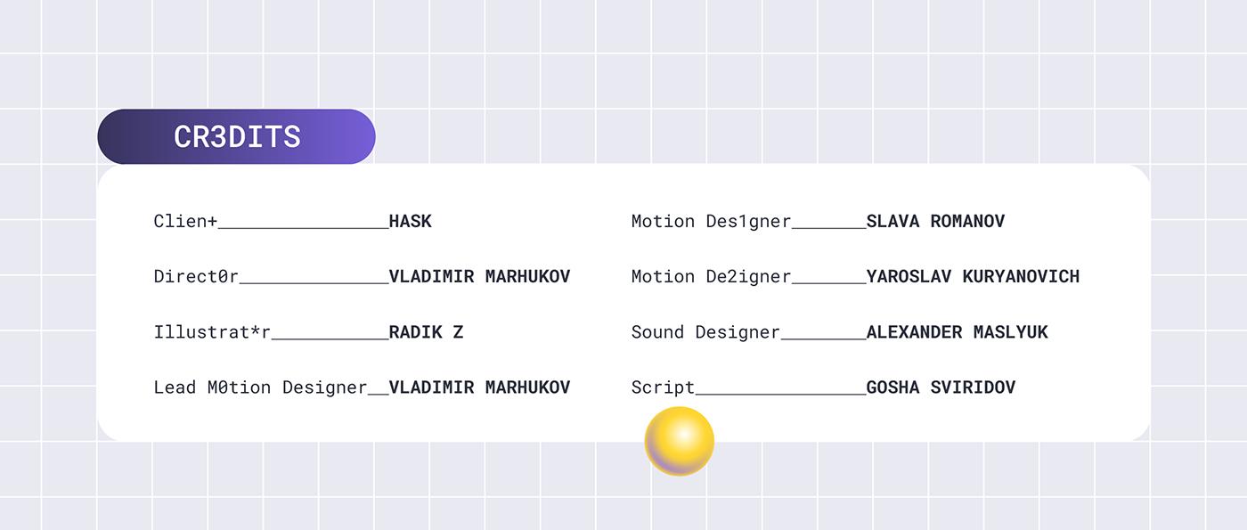 2D 2D Animation Character Character design  explainer explainer video gradient gradients ILLUSTRATION  Productivity