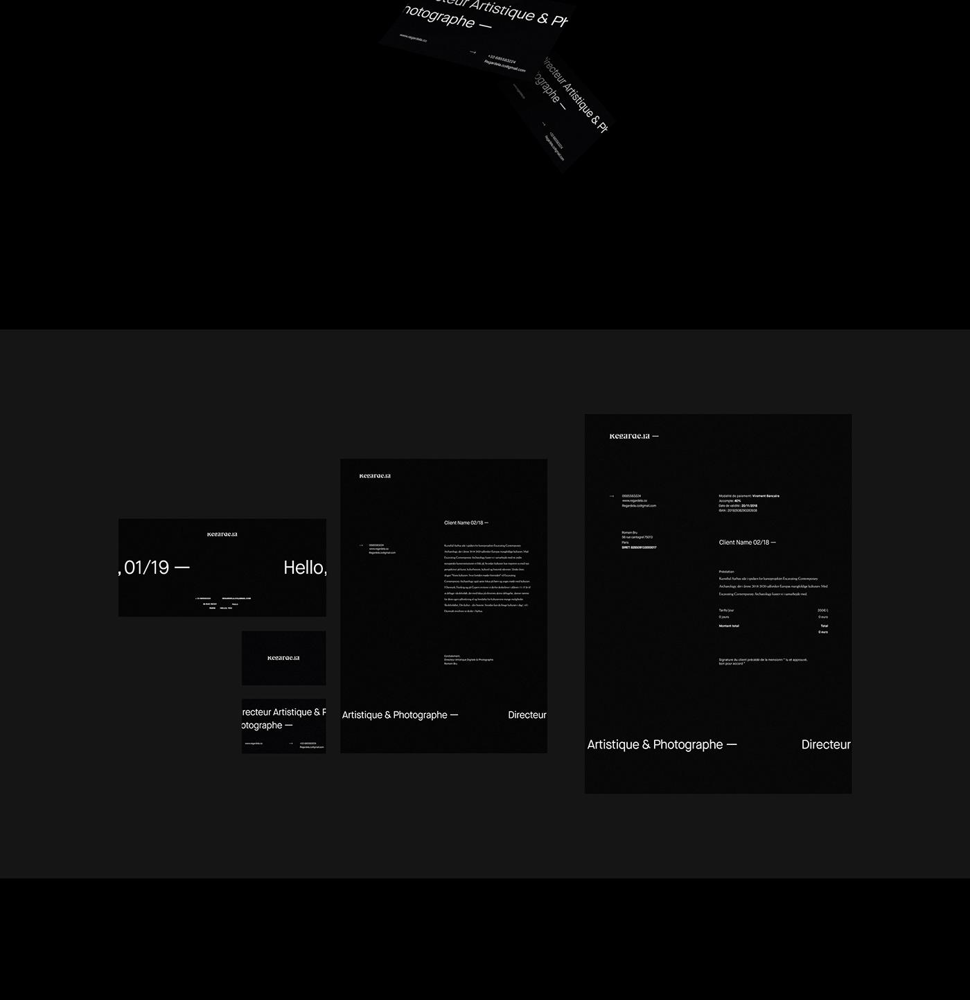 Webdesign motion design UX design Photographie Art Director motion Website adobeawards editorial