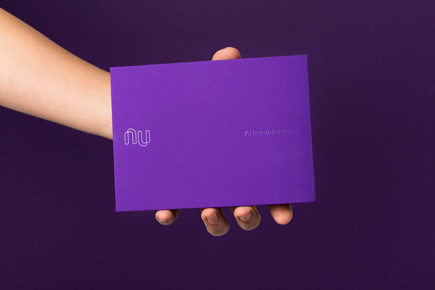 Nubank Welcome Kit.