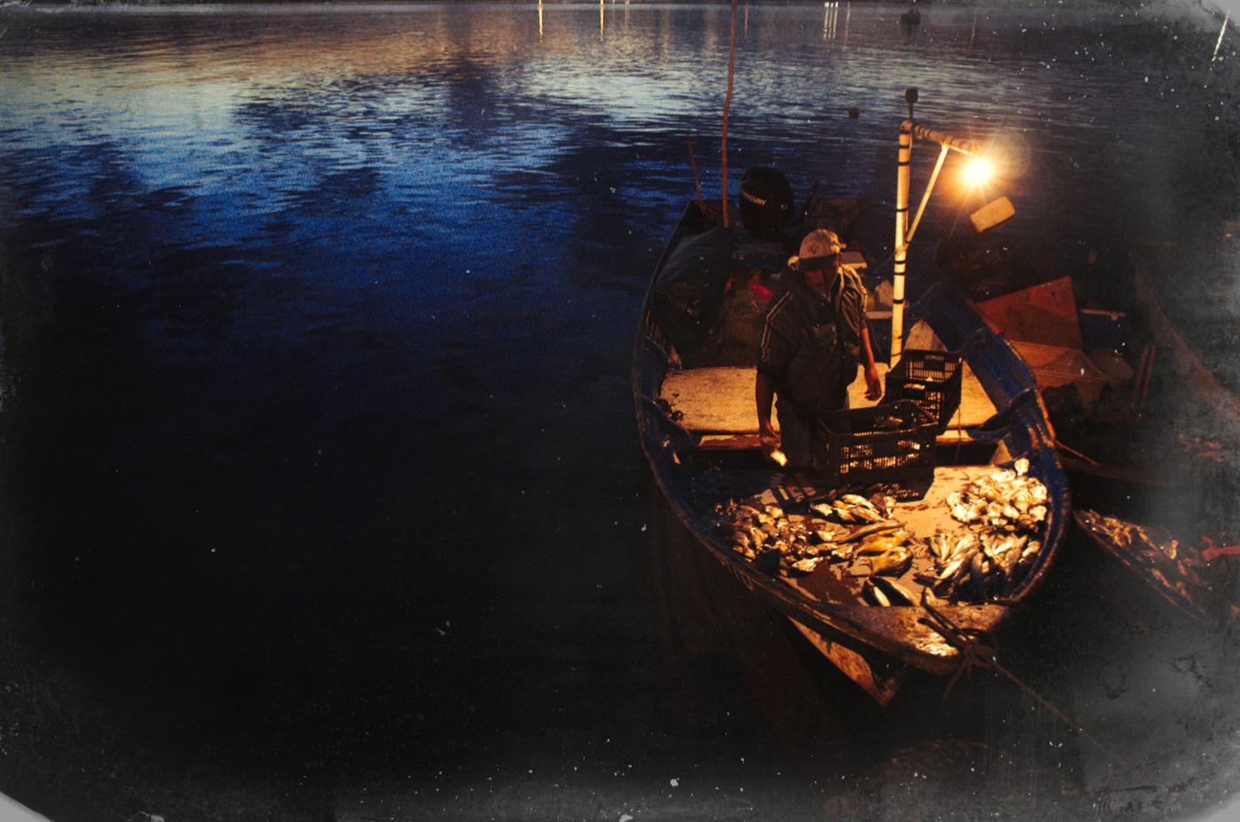 Image may contain: water, boat and ship