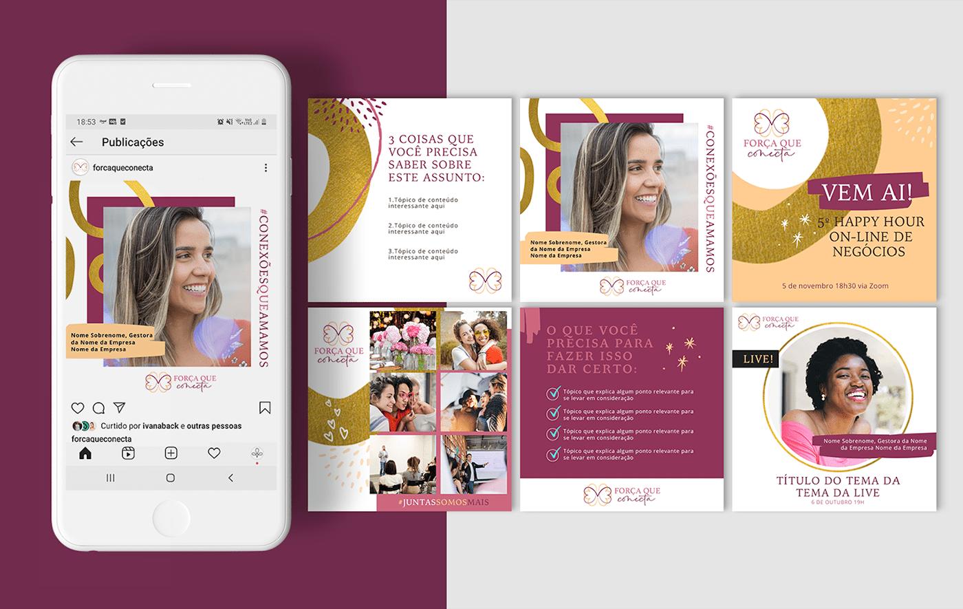 Design de Marca empreendedorismo empreendedorismo feminino identidade de marca identidade visual logo Logotipo marca