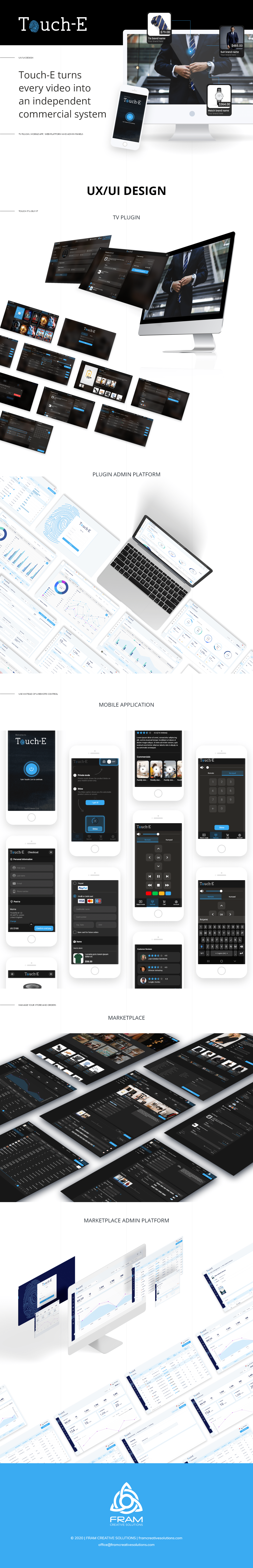 application e-commerce UI ux ux/ui webdeisgn Webplatform