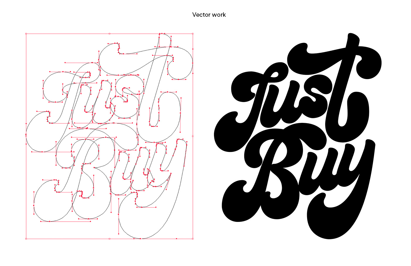 Just Buy - Typography