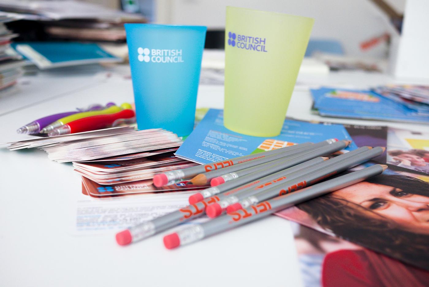 Editing  British Council school brochure retouch
