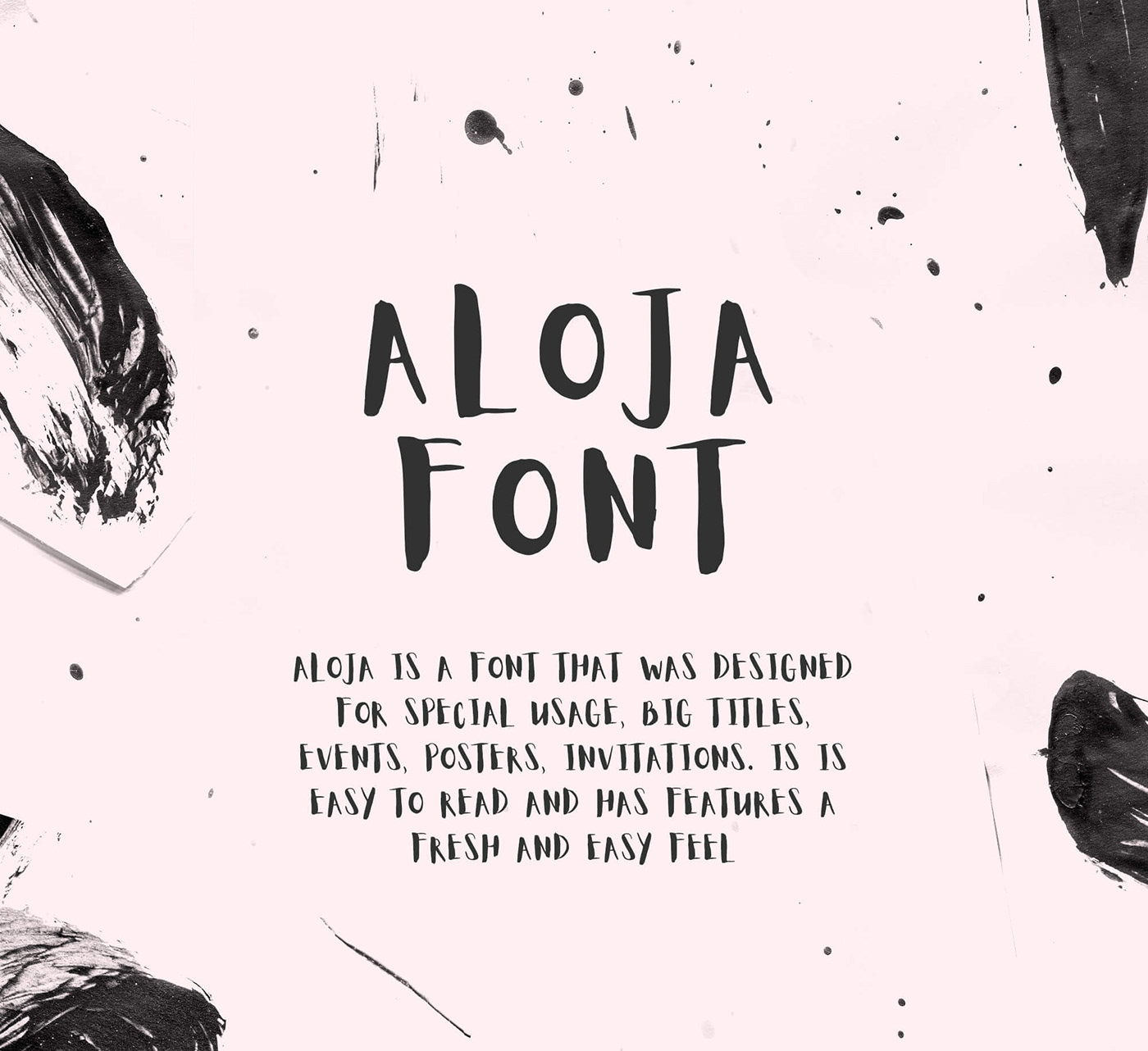 Aloja Handwriting Font Was Drawn By Ieva Mezule And Put Together Krisjanis Mezulis Can Be Used For