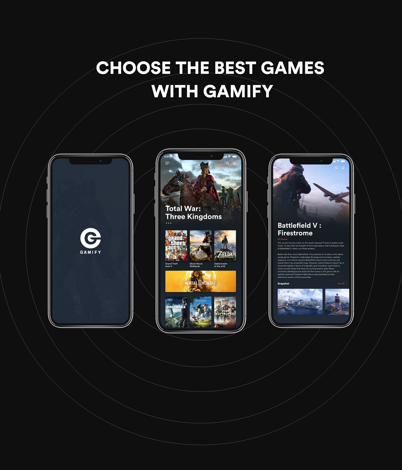 UI ux game Games design apps Gaming Gamer android ios