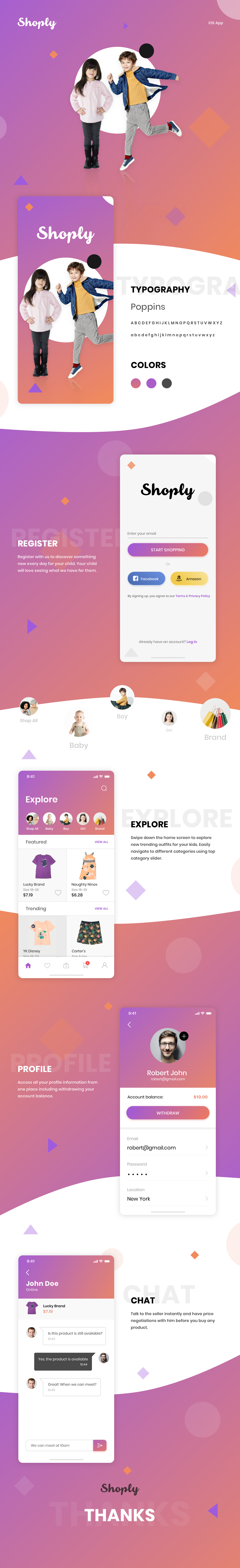 iphone app Android App Mobile app UI ux branding  Shopping Ecommerce user experiance user interface