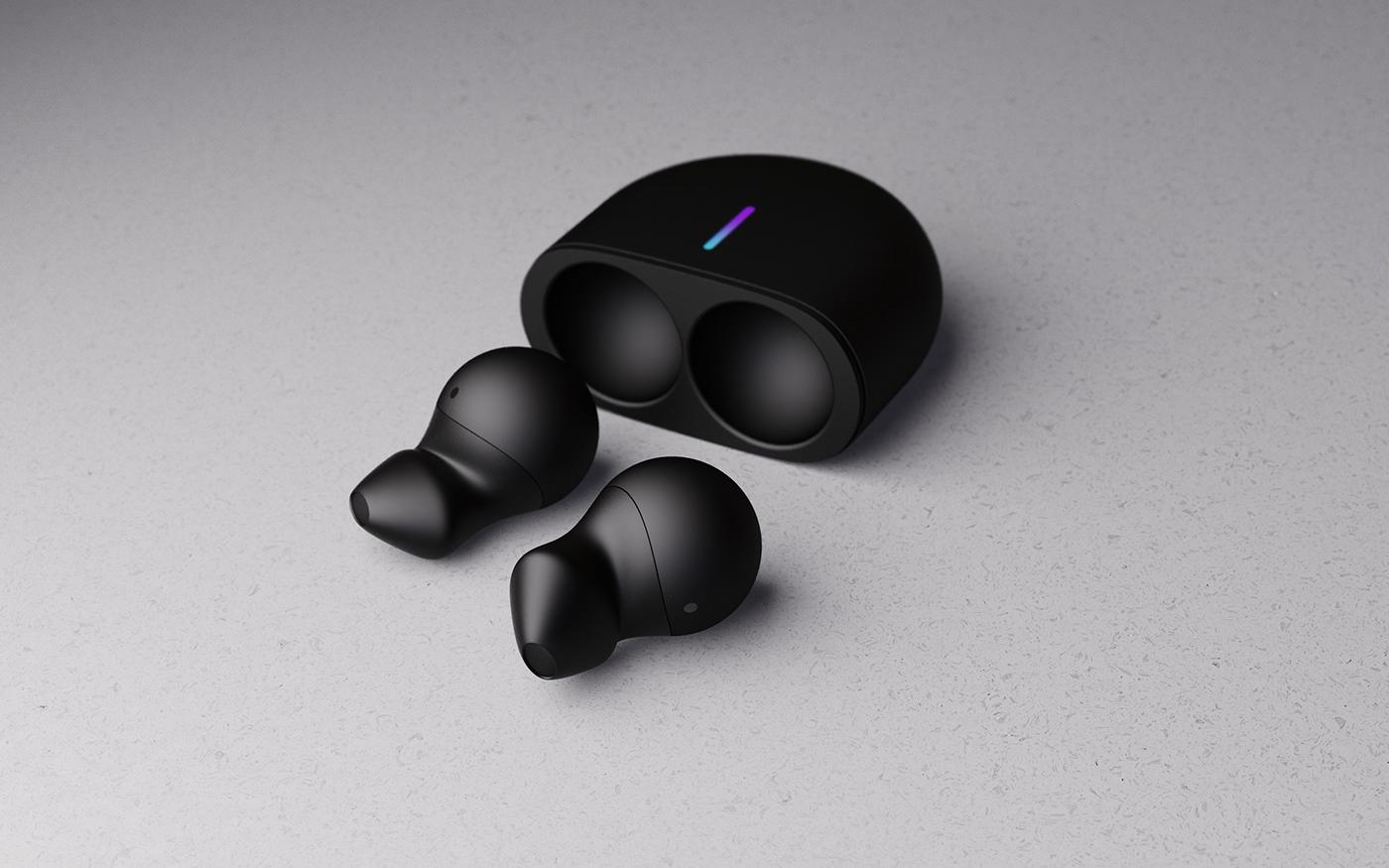 Nike bang and olufsen Fuelpod fuel band Fuel pod dtvdesign keyshot sport design ai Service design