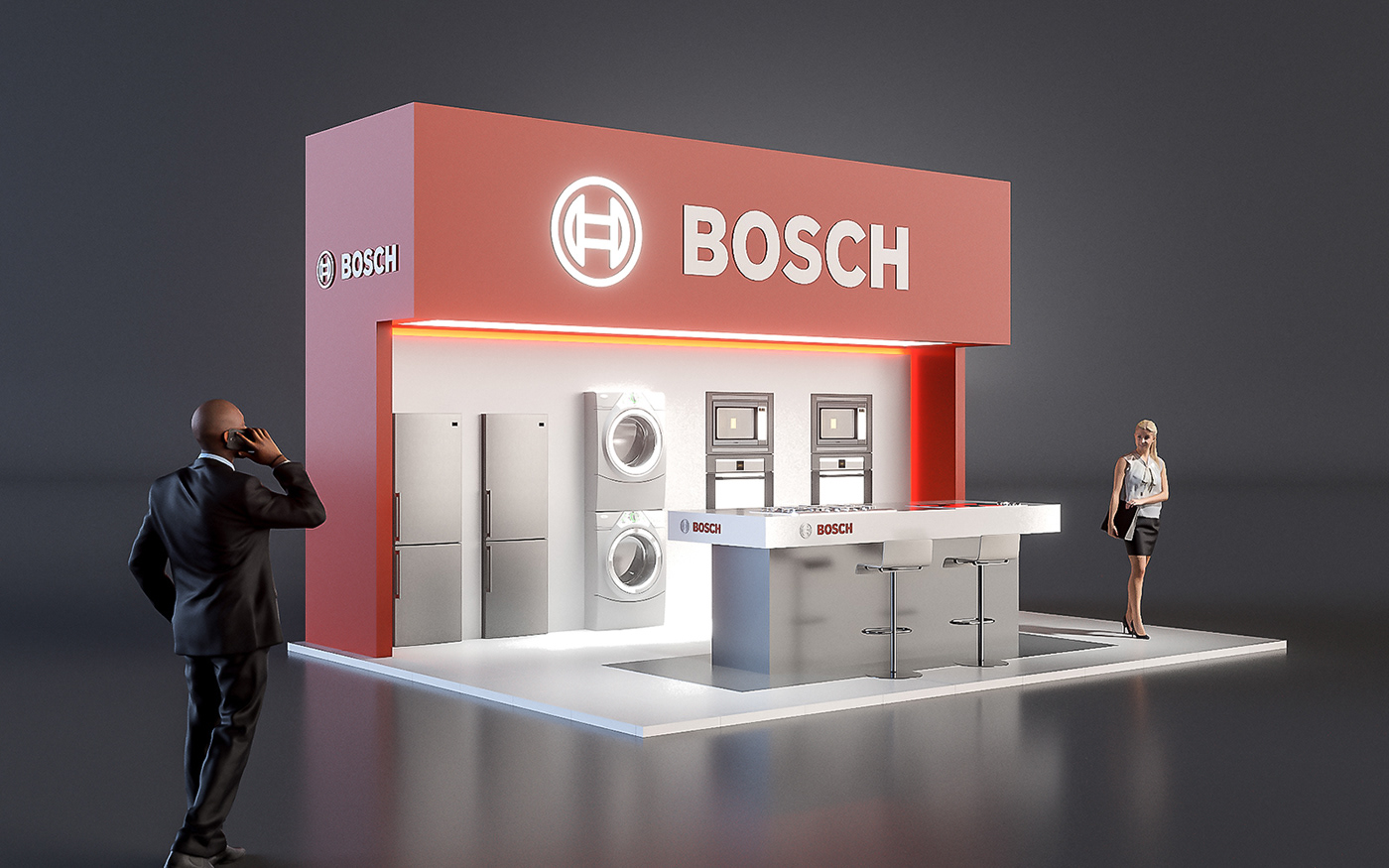 B/S/H Trade Show Concept Designs on Behance
