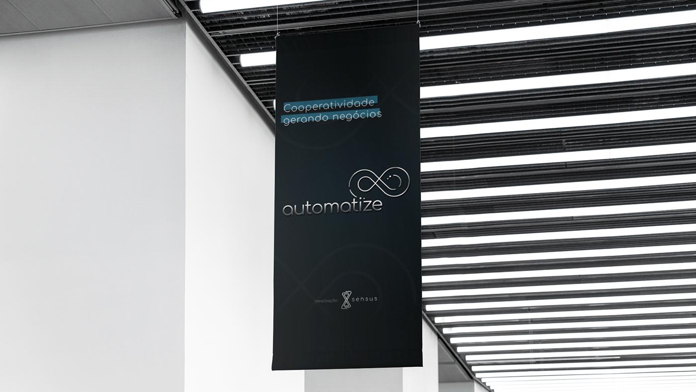 banner branding  Evento ID identidade visual logo marca painel Redes Sociais social media