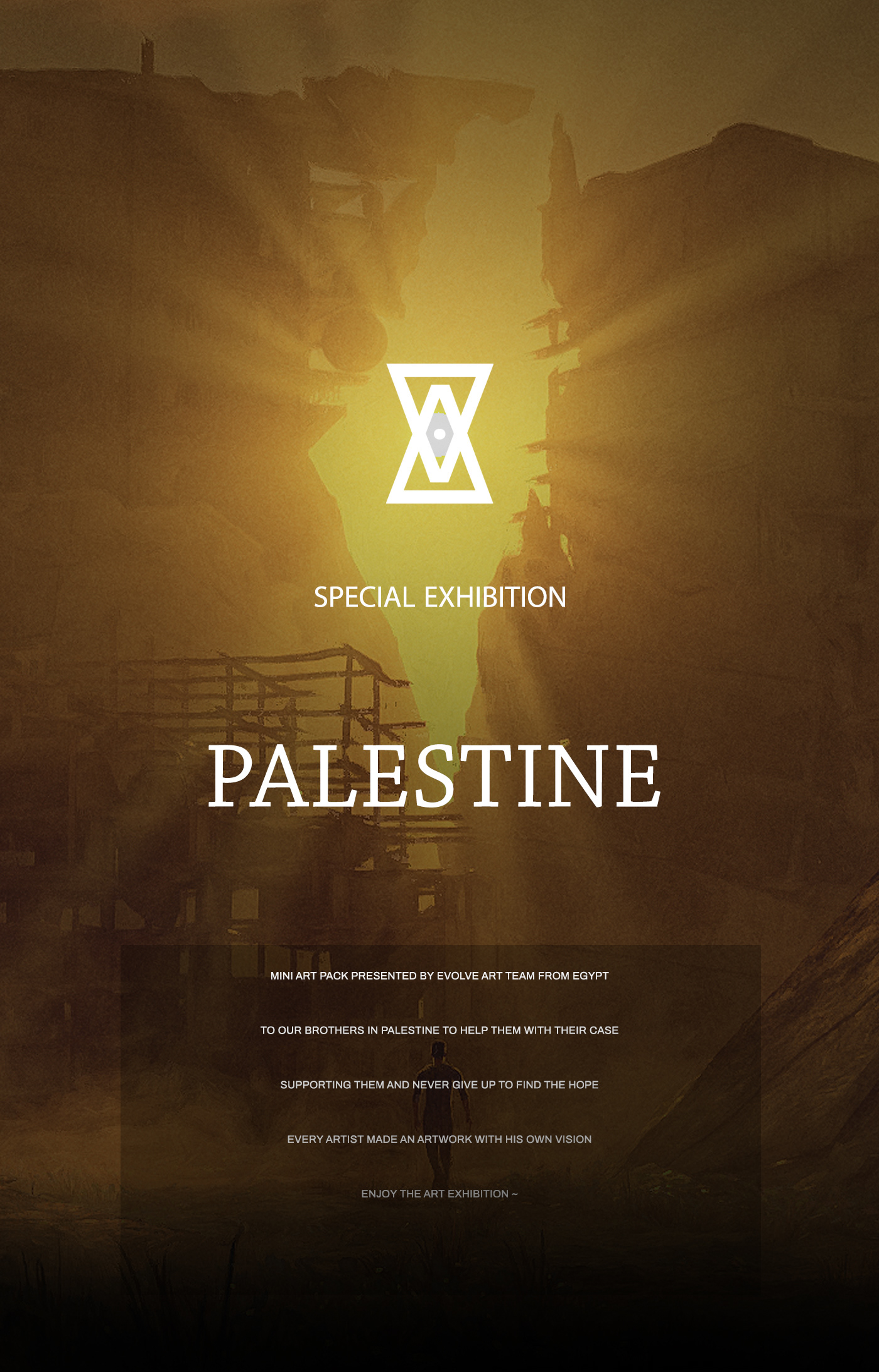 art artwork Digital Art  digital painting egypt ILLUSTRATION  mixed media palestine War 3D