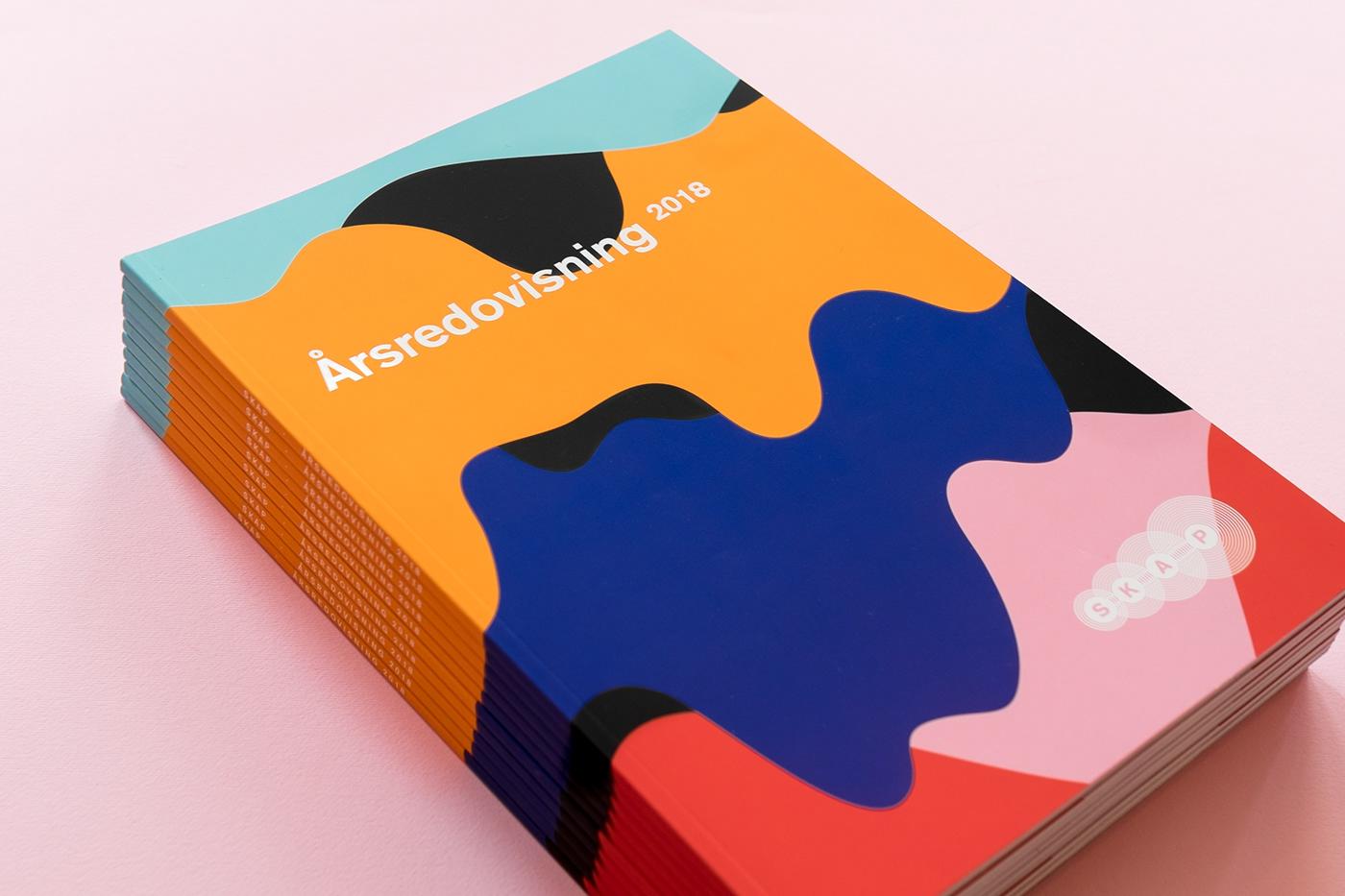 annual report ILLUSTRATION  graphic design