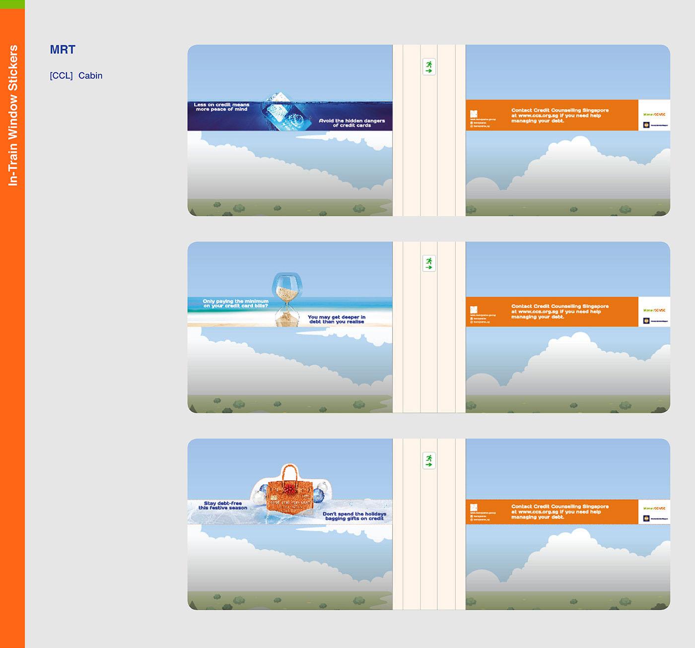 money moneysense mas singapore credit card loans Government Tip Of Iceberg metaphor finance