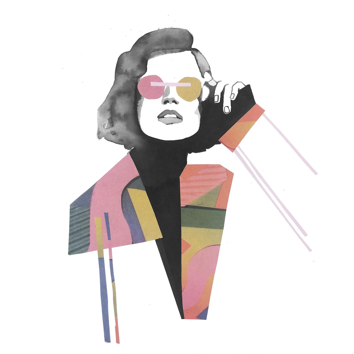 有美感的49套時尚插畫欣賞