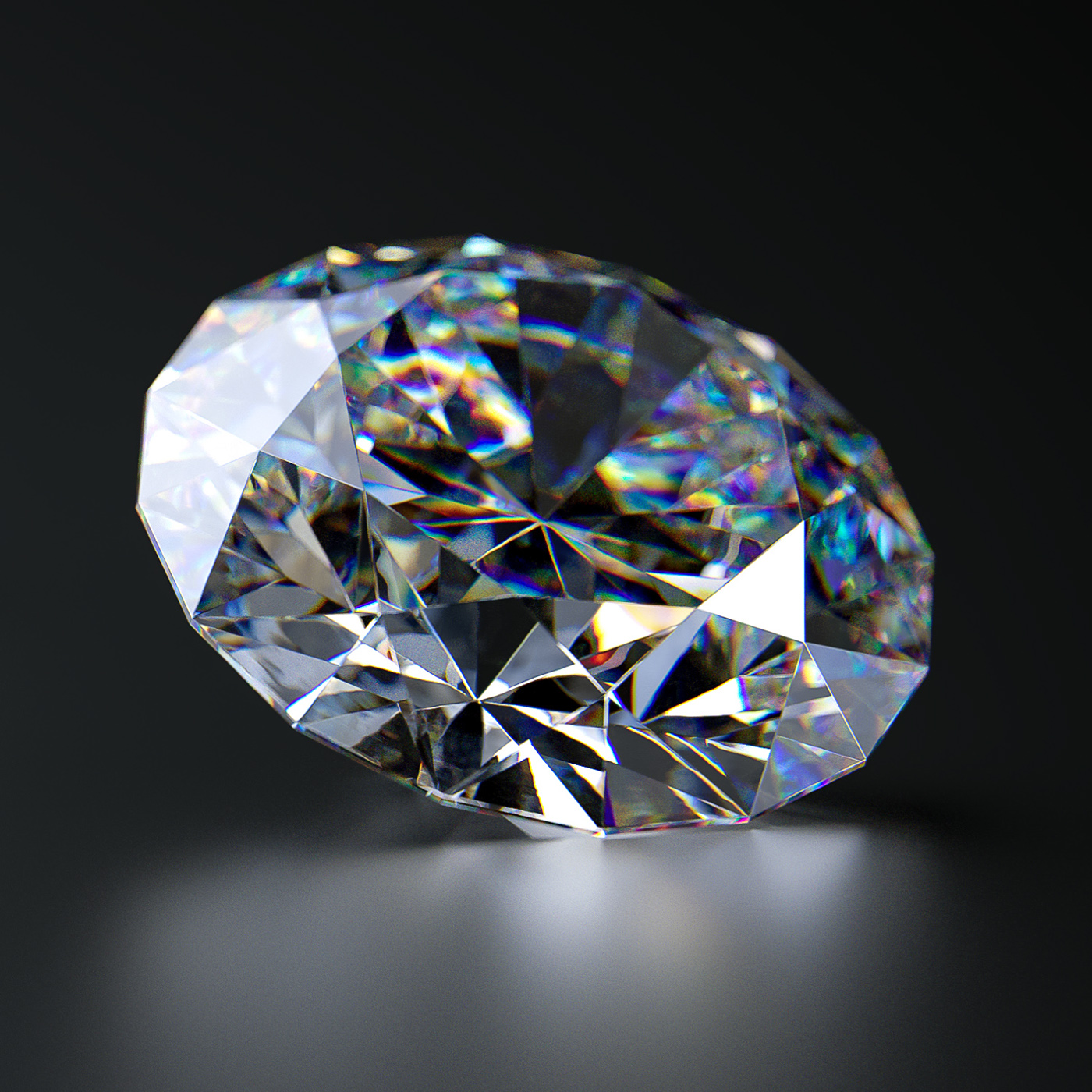 Diamonds CGI Study on Behance