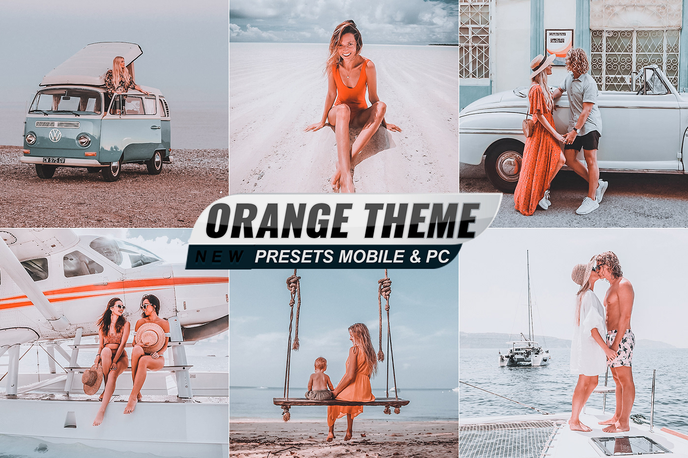 actions effects filter instagram orange mobile photo Photography  prasets THEMES Travel