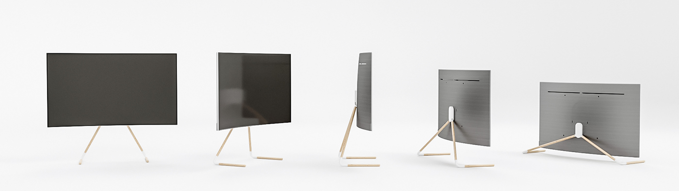 Flamingo Finalist Of Samsung QLED TV Stand Competition On