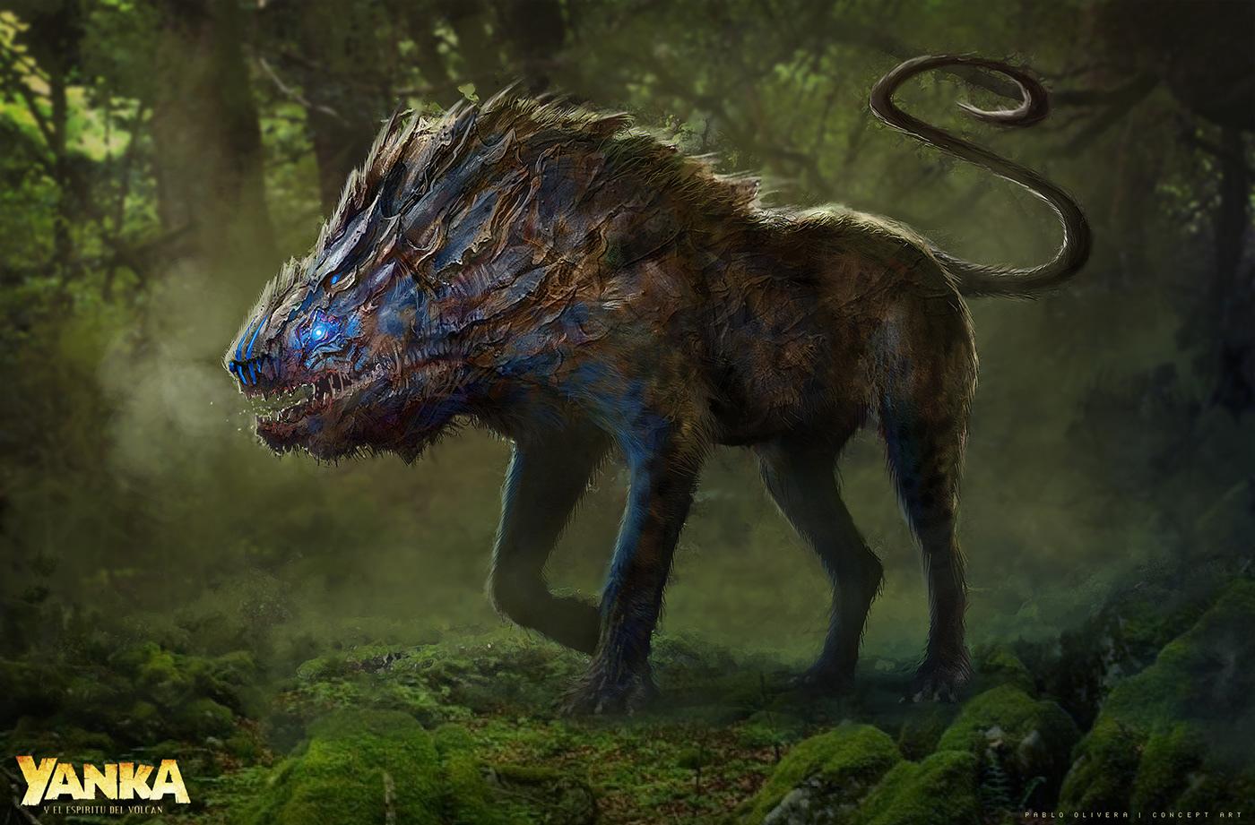Creature design - YANKA (movie 2018) on Behance