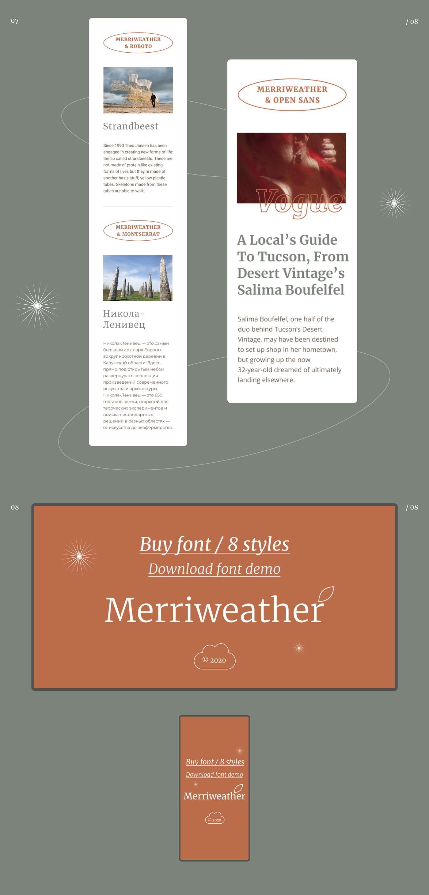 font font website Google Font Merriweather merriweather font typography   web site