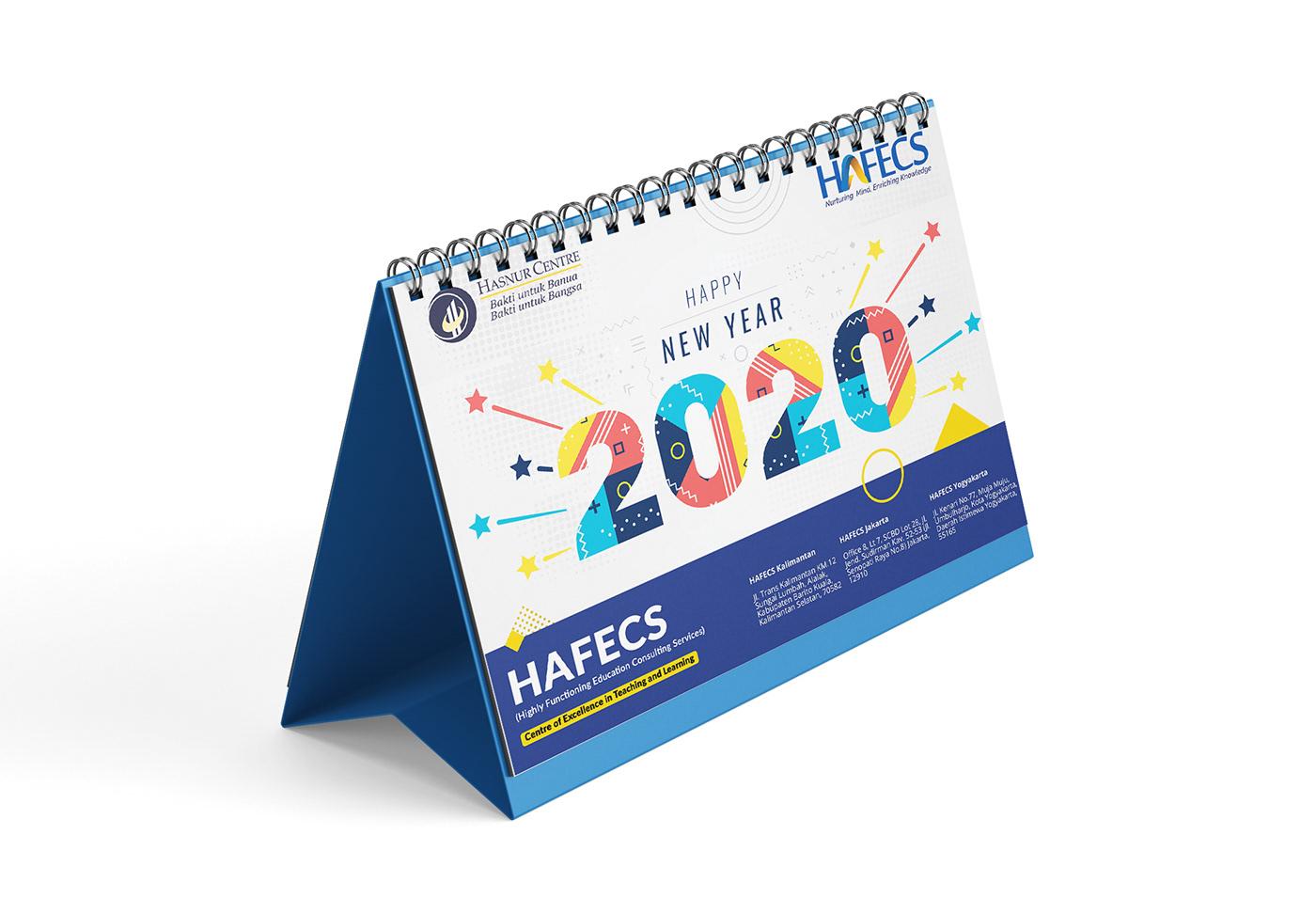 calendar CALENDAR 2020 branding  design Mockup Stationery Printing corporate company