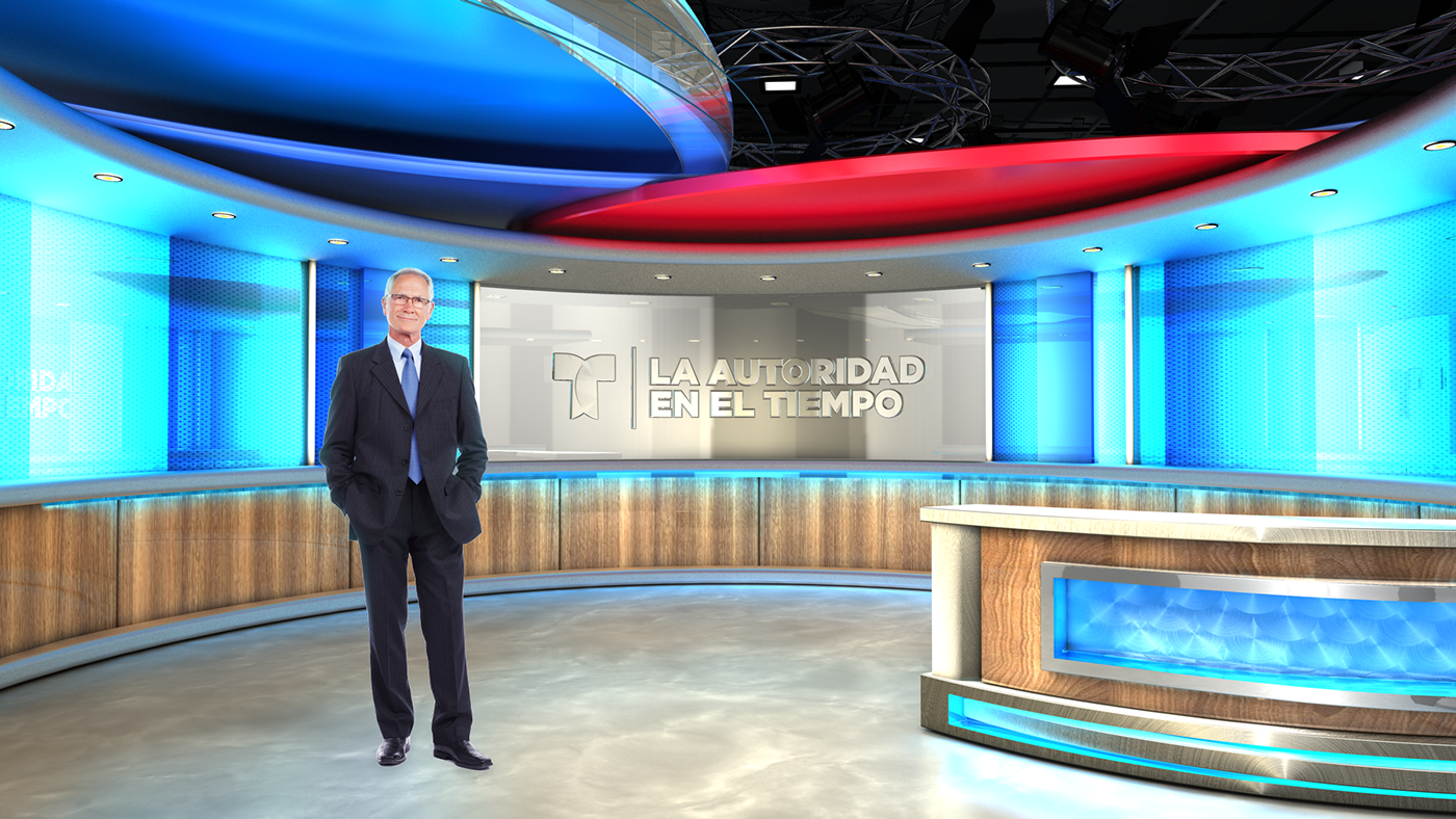 broadcast virtual set
